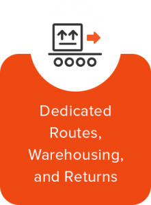 Dedicated Routes, Warehousing, and Returns