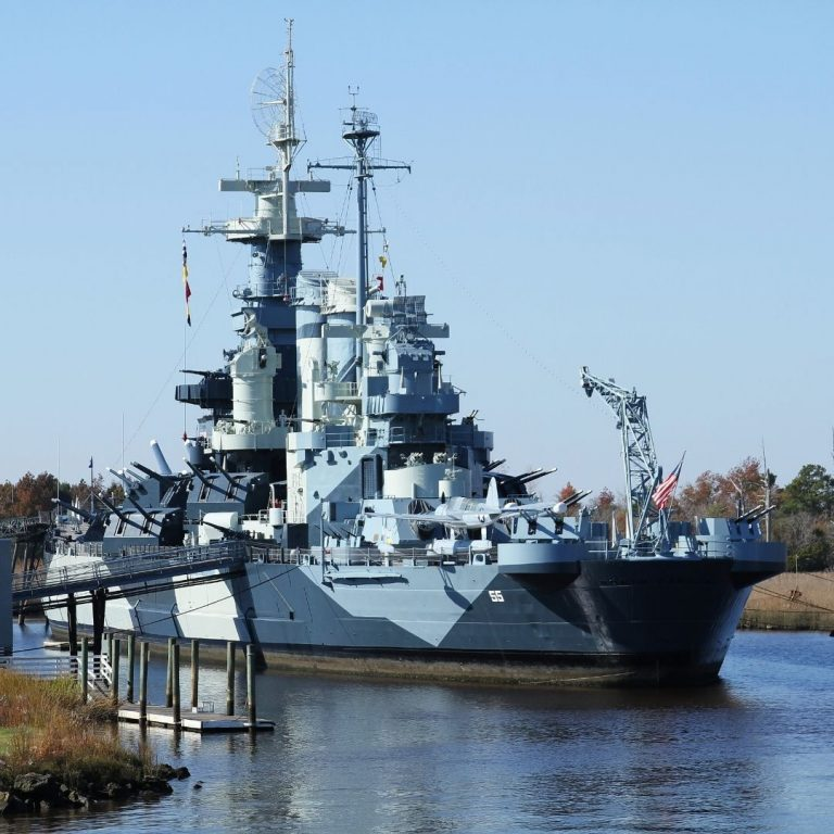 Culture and History in Wilmington, the USS North Carolina
